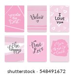 raster illustration. set of... | Shutterstock . vector #548491672
