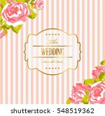 card with flowers | Shutterstock . vector #548519362