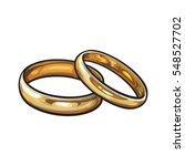 pair of traditional golden...   Shutterstock .eps vector #548527702