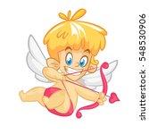 valentine's day illustration of ... | Shutterstock .eps vector #548530906
