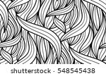 abstract vector seamless floral ... | Shutterstock .eps vector #548545438