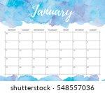 elegant watercolor bright print ... | Shutterstock . vector #548557036