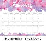 elegant watercolor bright print ... | Shutterstock . vector #548557042