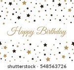 happy birthday background....   Shutterstock .eps vector #548563726
