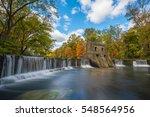 speedwell dam in new jersey... | Shutterstock . vector #548564956