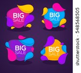 big sale  vector collection of...   Shutterstock .eps vector #548568505