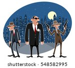 vector illustration of a three... | Shutterstock .eps vector #548582995
