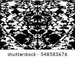 grunge black and white urban... | Shutterstock .eps vector #548583676