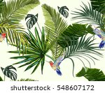 beautiful seamless vector... | Shutterstock .eps vector #548607172