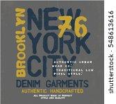 grunge effected typo vector... | Shutterstock .eps vector #548613616