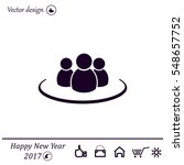group of people sign icon | Shutterstock .eps vector #548657752