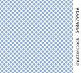 seamless soft blue polka dots... | Shutterstock .eps vector #548679916