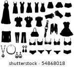 fashion | Shutterstock .eps vector #54868018