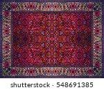 persian carpet texture ... | Shutterstock . vector #548691385
