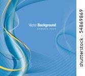 abstract background vector | Shutterstock .eps vector #54869869
