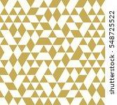seamless golden pattern of... | Shutterstock .eps vector #548725522