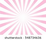 sunburst background.pink and... | Shutterstock .eps vector #548734636