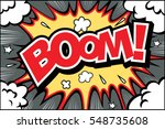 hand drawn  of speech bubbles... | Shutterstock .eps vector #548735608