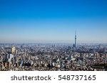 modern cityscape of japan