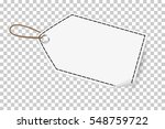 outline blank tag  at... | Shutterstock .eps vector #548759722