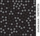 dark grey gears. black...   Shutterstock .eps vector #548785726