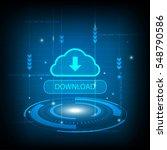 abstract download cloud circle...