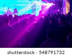 rock performance  enthusiastic... | Shutterstock . vector #548791732