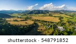 aerial landscape of australian... | Shutterstock . vector #548791852