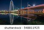 the margaret hunt hill bridge... | Shutterstock . vector #548811925