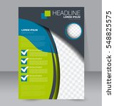 brochure template. business... | Shutterstock .eps vector #548825575