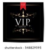 vip card design | Shutterstock .eps vector #548829595