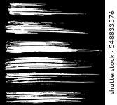 ink vector brush strokes.... | Shutterstock .eps vector #548833576