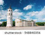 vilnius  lithuania. view of...