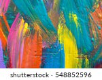 Small photo of Abstract art background. Hand-painted