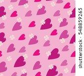 seamless pattern. vector image. ... | Shutterstock .eps vector #548859265