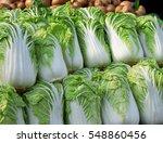 fresh lettuce in sunshine at... | Shutterstock . vector #548860456