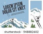 illustration in retro style of...   Shutterstock .eps vector #548882602