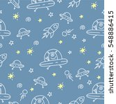 seamless vector pattern with... | Shutterstock .eps vector #548886415