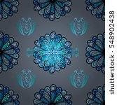mandalas background. vector... | Shutterstock .eps vector #548902438