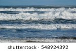 Waves Of The Pacific Ocean