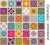 seamless pattern. vintage... | Shutterstock .eps vector #548929252