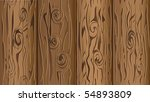 vector illustration of wooden... | Shutterstock .eps vector #54893809