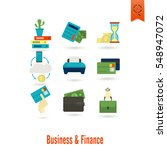 business and finance  flat icon ... | Shutterstock .eps vector #548947072