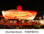 ride at the county fair at... | Shutterstock . vector #54898051