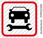 car repair intensive red and... | Shutterstock .eps vector #549022282