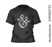 t shirt design template with...