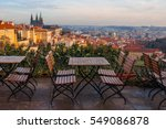 Panoramic View Of Prague With...