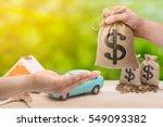 loans for real estate concept.... | Shutterstock . vector #549093382