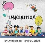 children imagination learning...   Shutterstock . vector #549101806