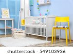 modern interior design of baby... | Shutterstock . vector #549103936